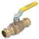 2505 - Zetco WaterMarked & AGA Approved DZR Brass Underground Ball Valve