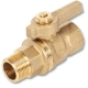 1131 - Zetco AGA Approved Brass Ball Valve F&F T Handle