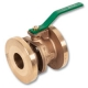 1248 - Zetco WaterMarked DZR Brass 90° Ball Valve F&F DZR Brass Hand Wheel