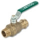 1001 - Isis® Heavy Pattern WaterMarked & AGA Approved DZR Brass Ball Valve F&F Lever Handle